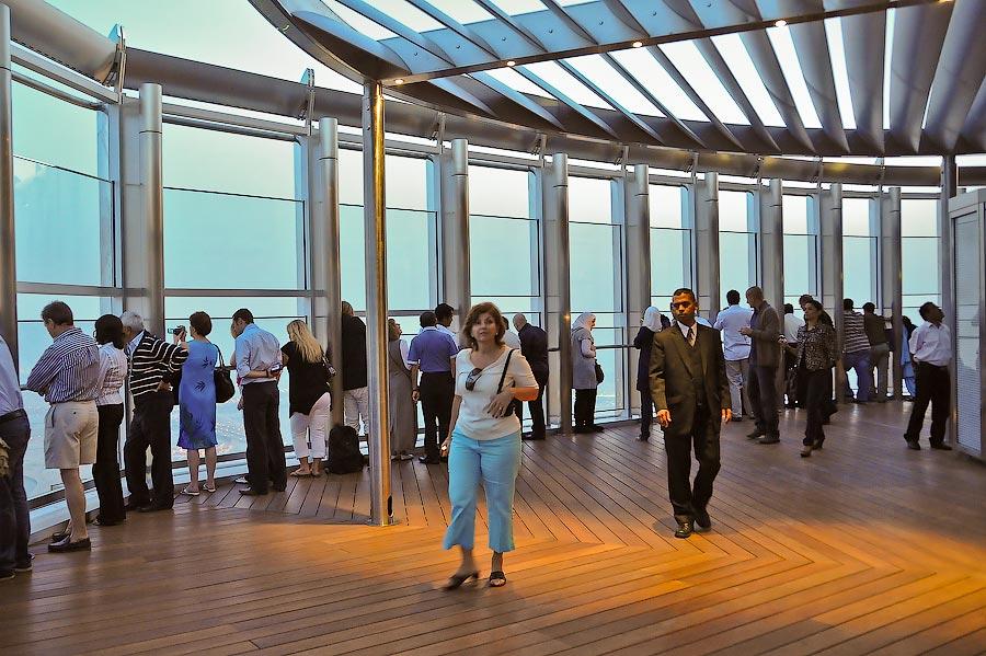 Burj Khalifa Top Floor Inside View Burj Khalifa Top Floor View