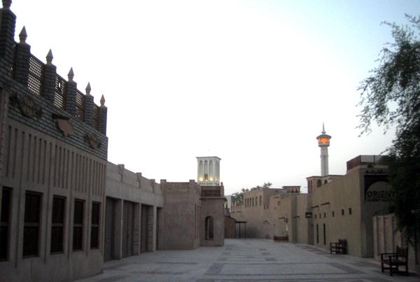 Streets of Al Bastakiya Dubai