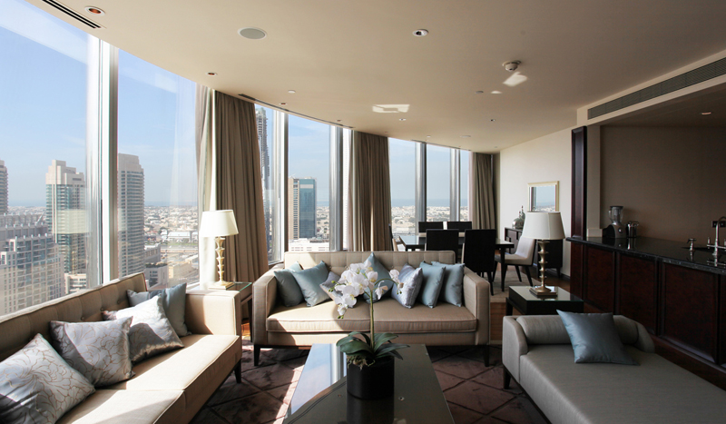 Image gallery inside burj khalifa apartments for Apartment inside