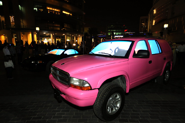 Aquarium Car - Dubai Festival of Lights 2014