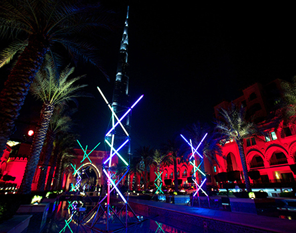 Mikado - Dubai Festival of Lights 2014
