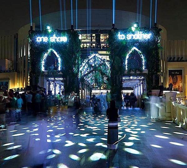 Mirage Metropolis - Dubai Festival of Lights 2014