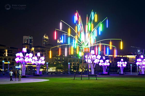 Ombrellum - Dubai Festival of Lights 2014