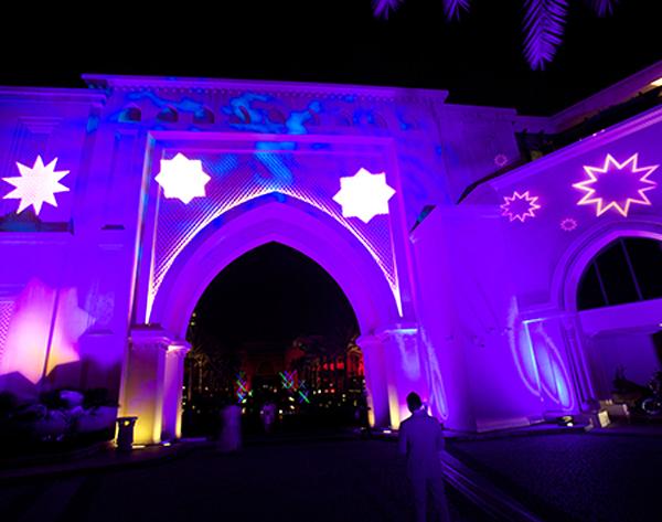 Stars Gate - Dubai Festival of Lights 2014