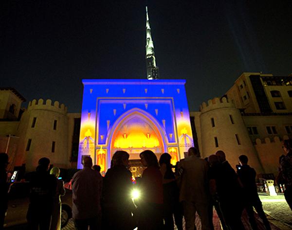 Vertigo - Dubai Festival of Lights 2014