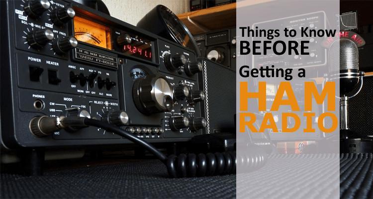 Getting a Ham Radio