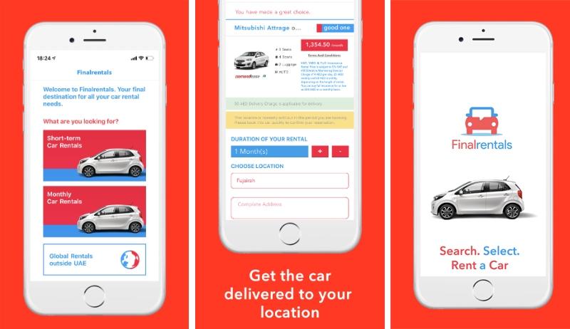 Car Rental Mobile Apps