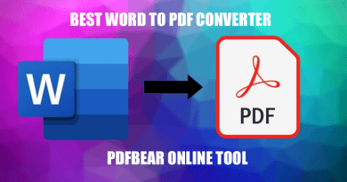 Best Word to PDF Converter Online Tool