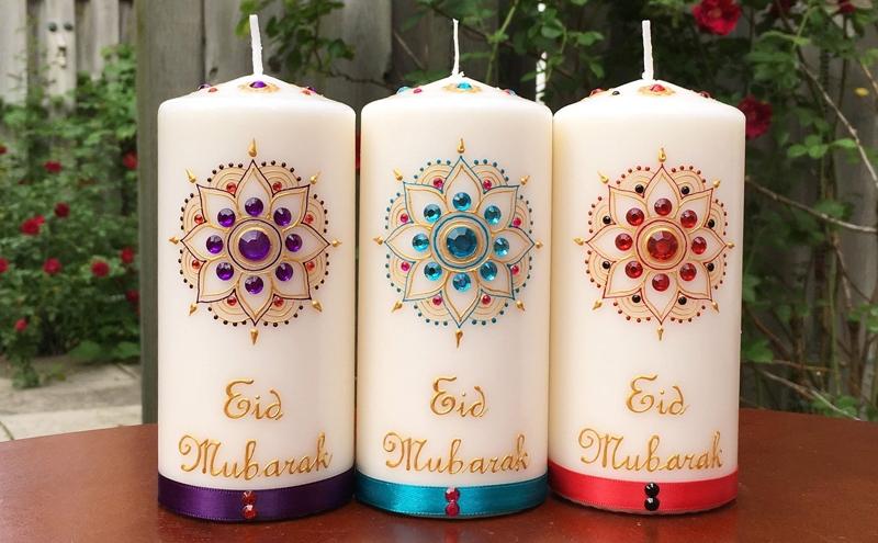 Eid Candles in Dubai