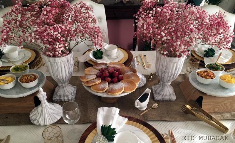 Eid Table Decoration
