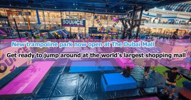 Jump N Fun: New Trampoline Park now Open at The Dubai Mall