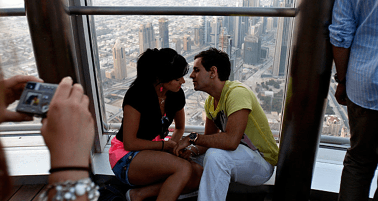 Public Display of Affection Dubai