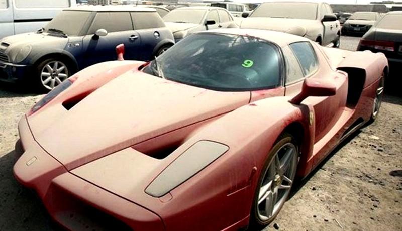 Abandoned Ferrari's