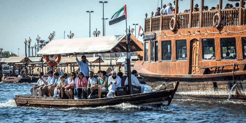 Abra Ride at Dubai Creek