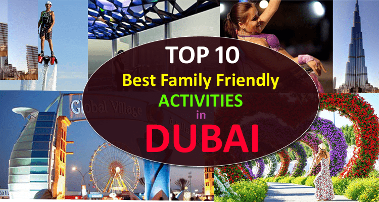 Activities in Dubai