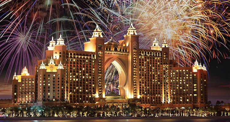 Atlantis Dubai New Year 2018