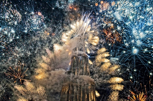 burj khalifa opening ceremony