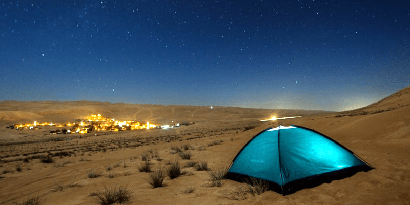 Camping in Dubai