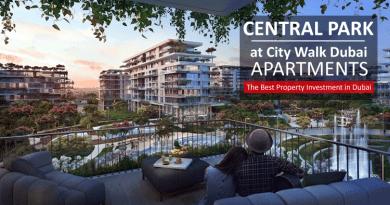 Central Park City Walk Dubai Apartments