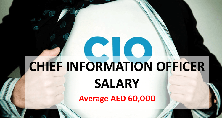 Chief Information Officer CIO salary in Dubai