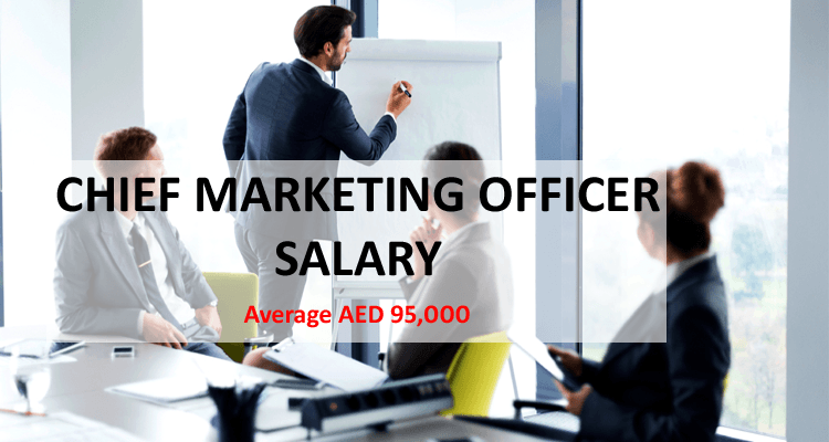 Chief Marketing Officer CMO Salary Dubai