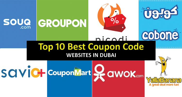 Top 10 Best Coupon Code Websites in Dubai