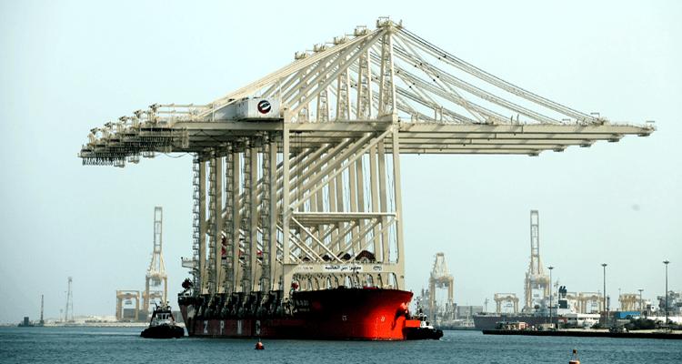 Cranes in Dubai