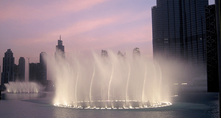 Dubai Dancing Fountains