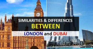 Dubai and London