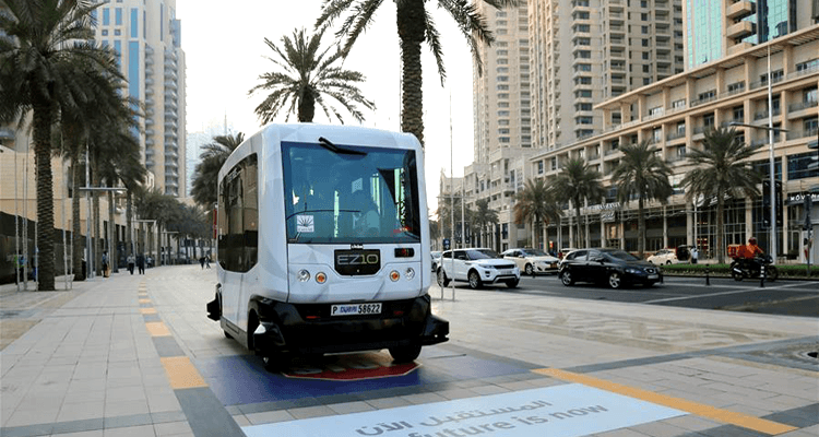 Driver-less Vehicles in Dubai
