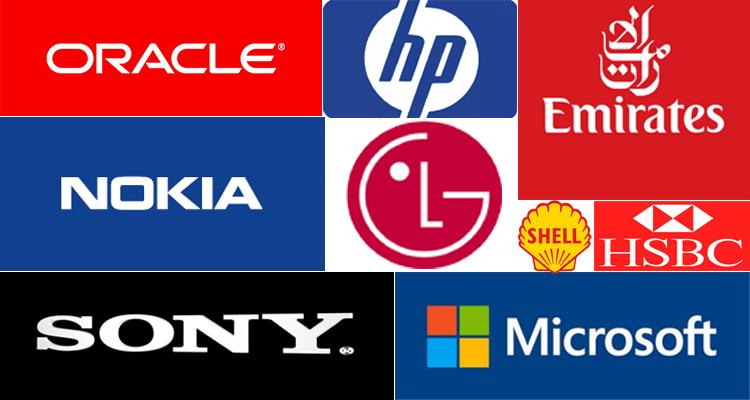 Big International Brands in Dubai