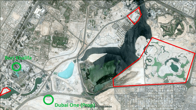 Dubai Creek Harbour Map