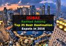 Dubai is Ranked Among Top 25 Best Destination for Expats