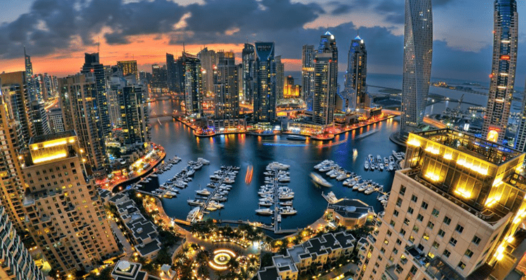 Dubai Fastest Growing City