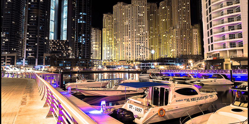 Walk at Dubai Marina