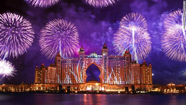 largest fireworks display world record