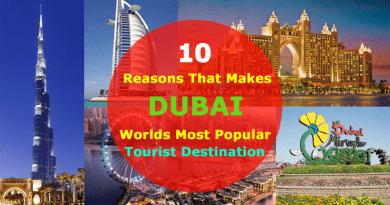Dubai Popular Tourist Destination