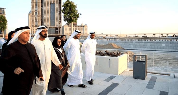 Dubai Water Canal Opening