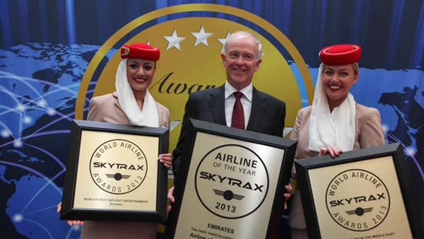 Emirates Airlines worlds best airline 2013