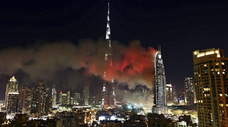 Fire Breakout in Dubai