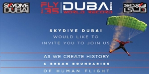 Fly the 35 - Dubai World Record