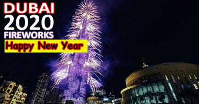 Happy New Year 2020 in Dubai