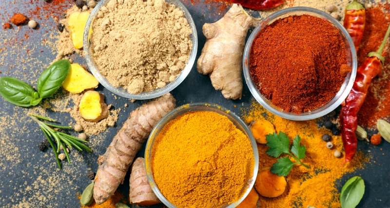 Herbs and Spices in Meal