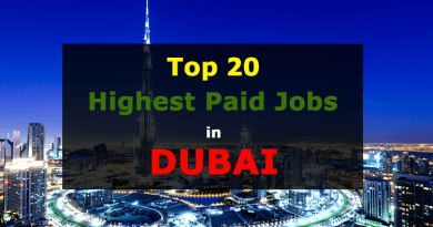 Highest Paid Jobs in Dubai