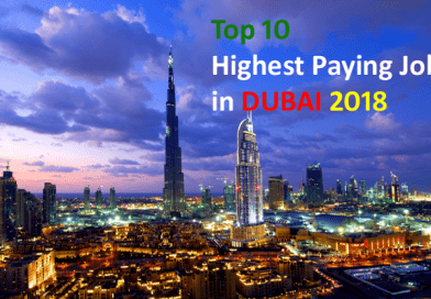 Top 10 Highest Paying Jobs in Dubai 2018