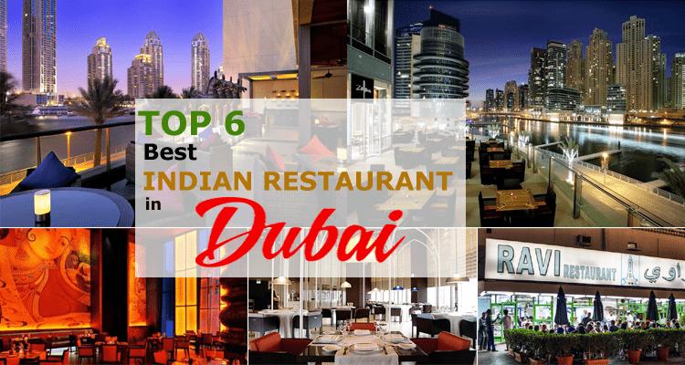 Top 6 Best Indian Restaurants in Dubai
