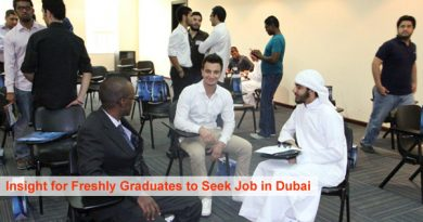 Fresh Graduates seek Jobs in Dubai