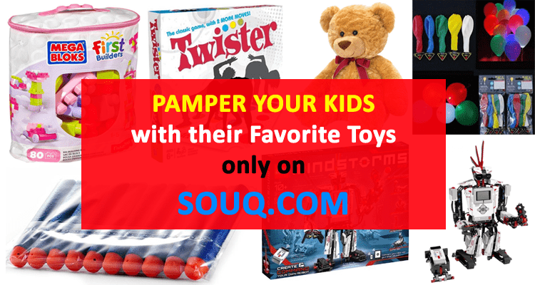Pamper your kids with their Favorite Toys only on Souq.com