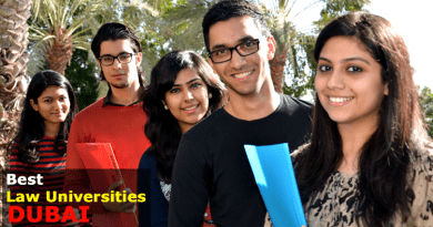 best law universities in Dubai