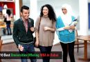 Top 10 Best Universities Offering MBA in Dubai